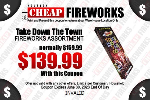 Houston Fireworks Coupons