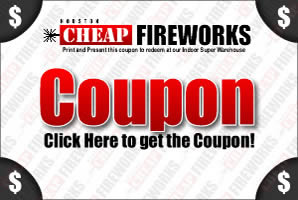 Click Here for the Houston Cheap Fireworks Coupon