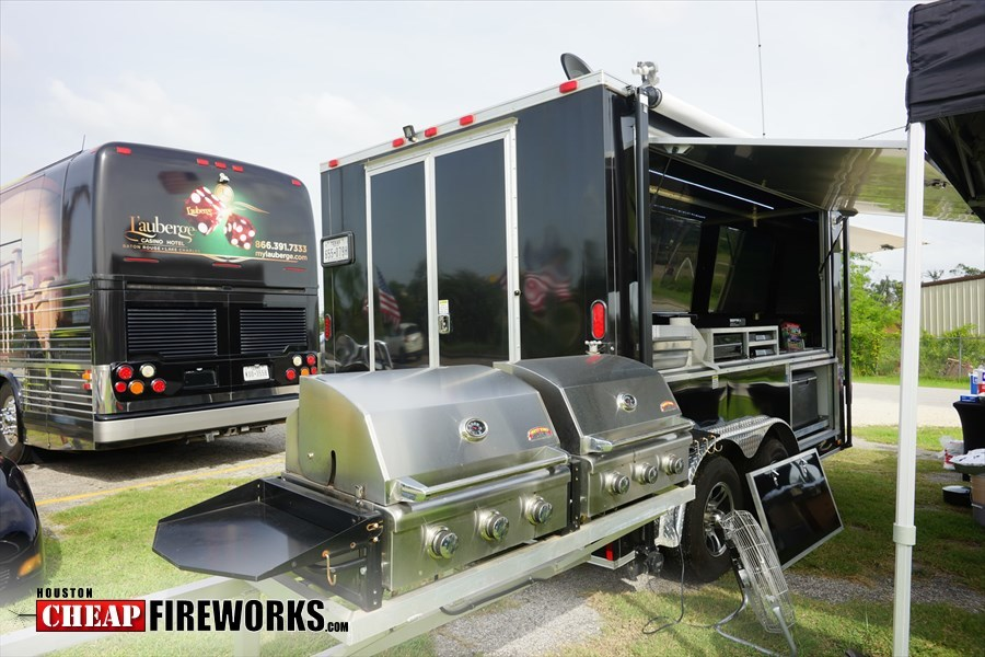 Fireworks Sale and FREE BBQ