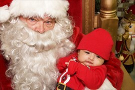 Customer Photos with Santa