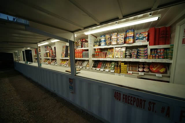 Houston Fireworks Stand Inventory
