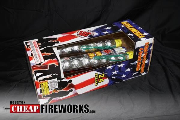 4 Ever America 6 Shot Artillery Shells Houston Cheap Fireworks