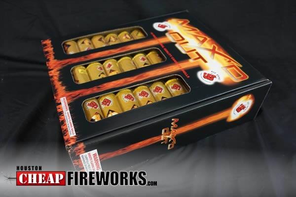 Maxed Out 18 Shot Artillery Shells Houston Cheap Fireworks
