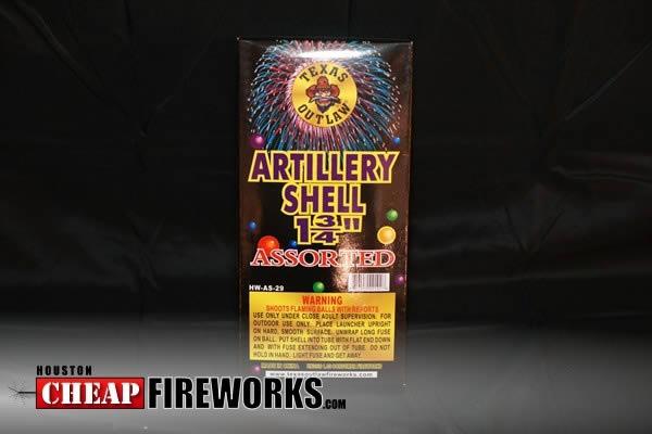 Texas Outlaw Artillery 6 Shot Artillery Shells Houston ...