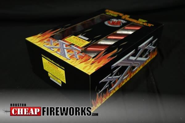Triple Threat 12 Shot Artillery Shells Houston Cheap Fireworks