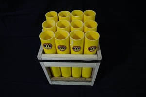 12 Tube Display Rack Fiberglass